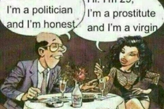 Politician-honesty